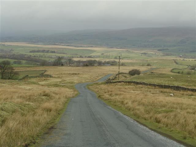 Open moorland roads